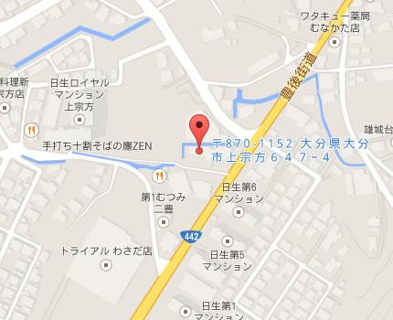 宗方院地図