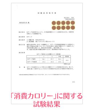 「血糖値の上昇抑制(食欲抑制)」に関する試験結果